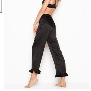 Victoria's Secret Satin Ruffle Pant